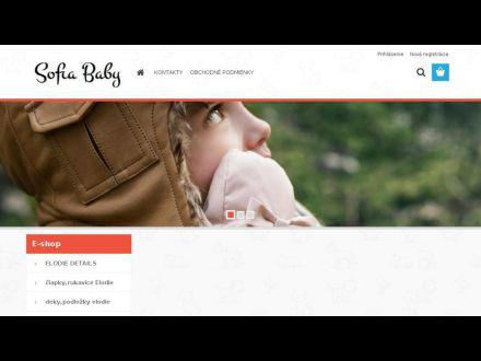 www.sofiababy.sk