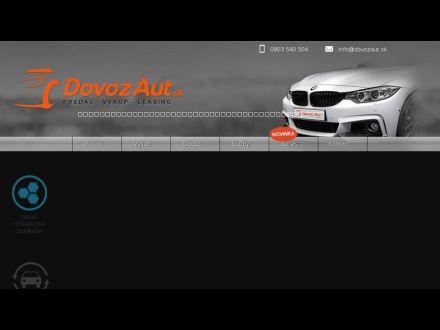 www.DOVOZAUT.sk
