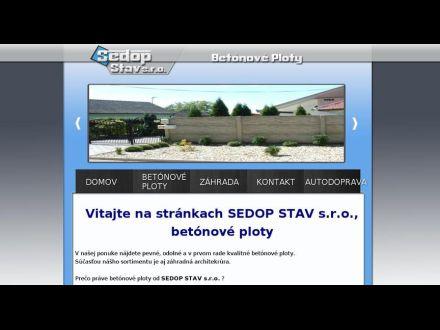 www.sedopstav.sk