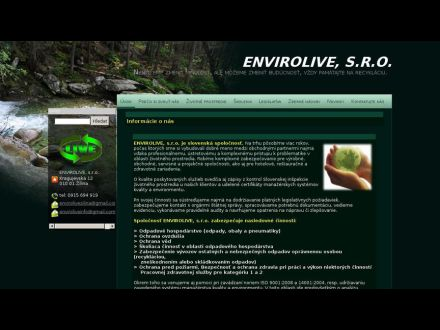 www.envirolive.sk