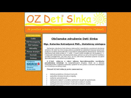 www.ozdetislnka.sk