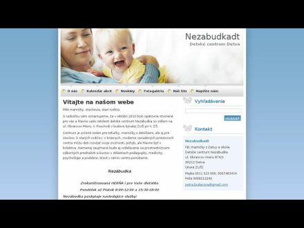 www.nezabudkadt.webnode.sk