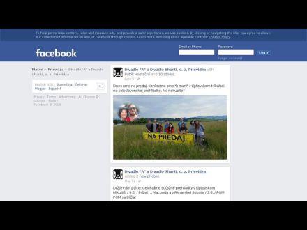 www.facebook.com/DivadloPrievidza/timeline