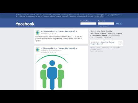www.facebook.com/pages/A-Z-Personell-sro-person%C3%A1lna-agent%C3%BAra/378556625656548