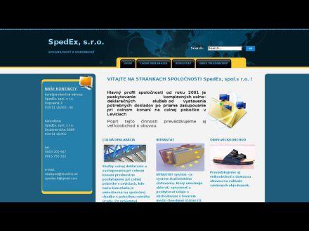 www.spedex.sk