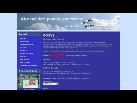 www.gosys.sk