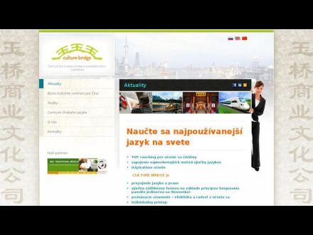 www.culturebridge.sk