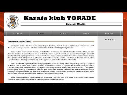 www.torade.imafex.sk