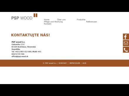 www.psp-wood.sk