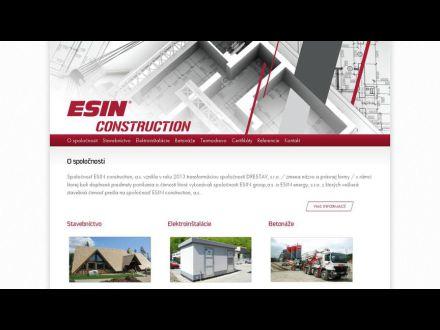 www.esinconstruction.sk