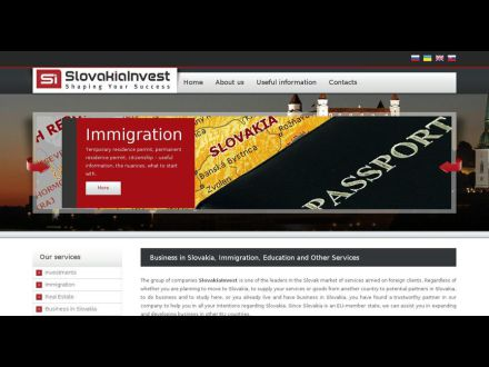 www.slovakiainvest.eu