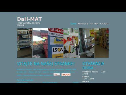 www.dahmat.sk