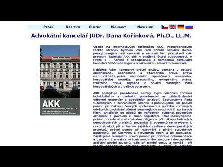 www.akkorinkova.sk