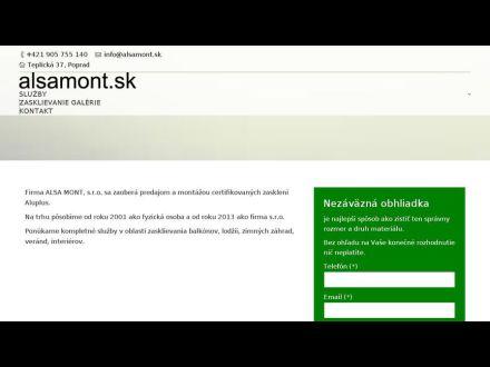 www.alsamont.sk