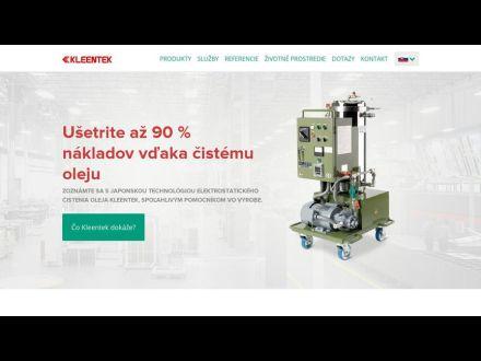 www.kleentek.sk