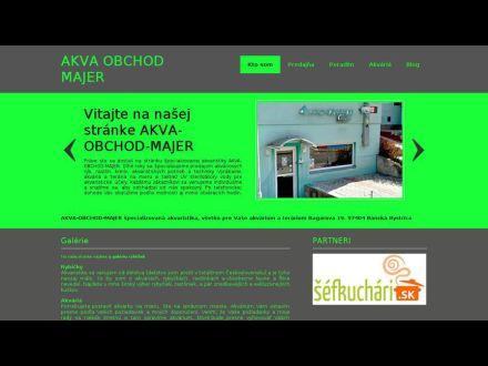 www.akva-obchod-majer.sk