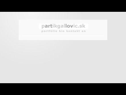 www.partikgallovic.sk