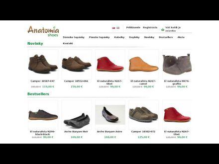 www.anatomiashoes.sk