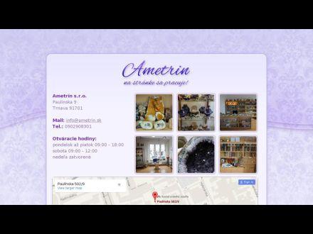 www.ametrin.sk