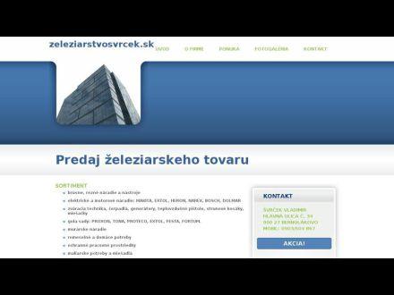 www.zeleziarstvosvrcek.sk