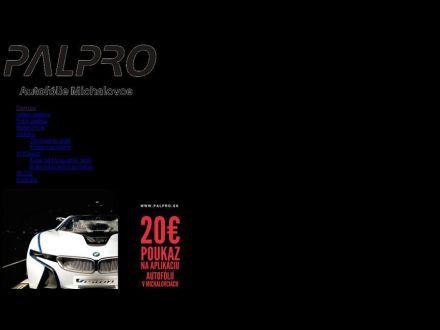 www.palpro.sk