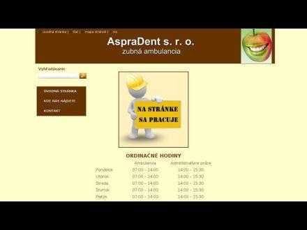 www.aspradent.sk