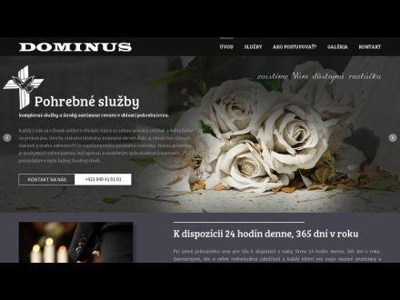 www.dominus.sk