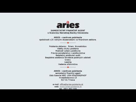 www.aries-poistenie.sk