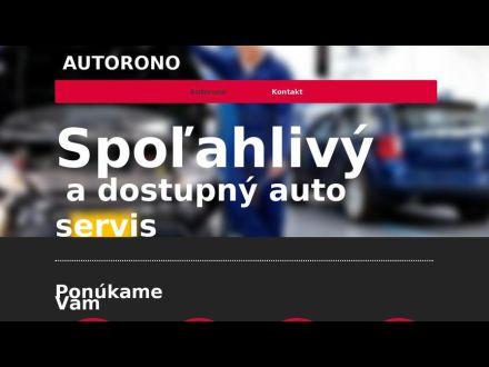 www.autorono.sk
