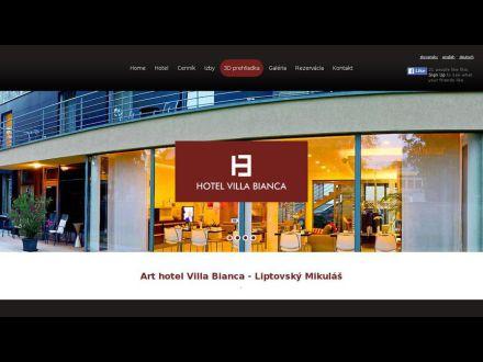 www.hotelvillabianca.sk