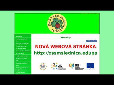 www.zslednica.wbl.sk