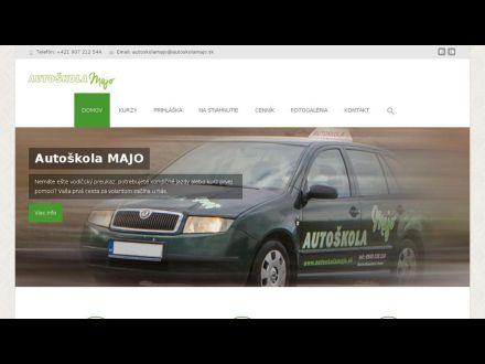 www.autoskolamajo.sk