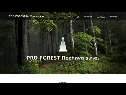 www.proforest.sk