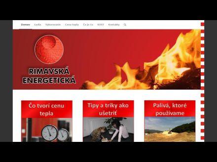 www.rimavskaenergeticka.sk