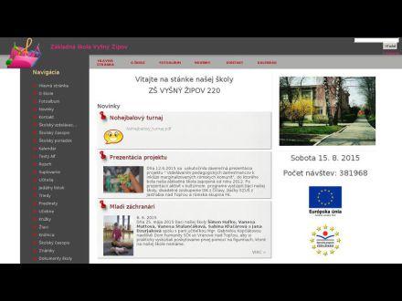 www.zsvysnyzipov.edupage.org