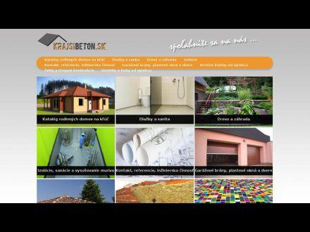 www.krajsibeton.sk