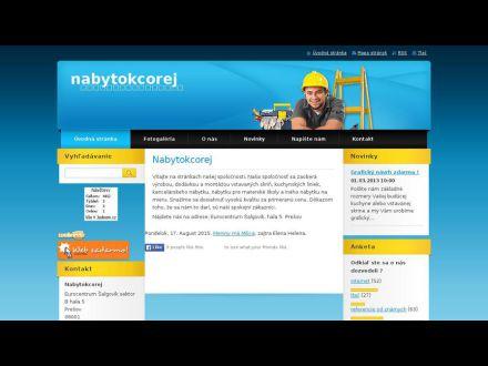 www.nabytokcorej.sk