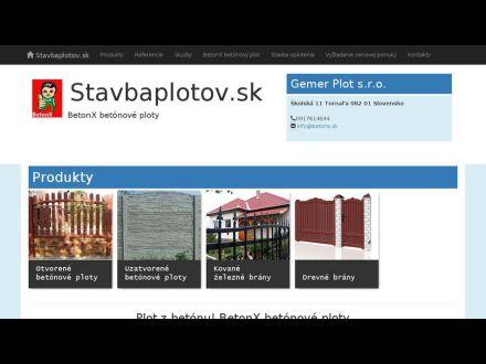 www.stavbaplotov.sk