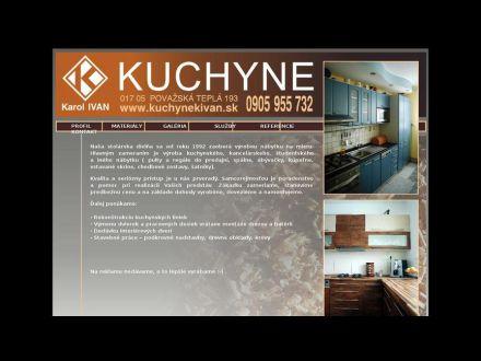 www.kuchynekivan.sk