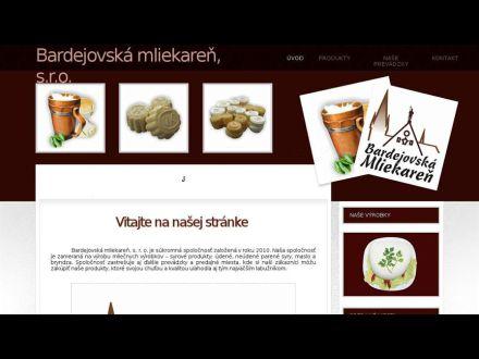 www.bardejovskamliekaren.sk