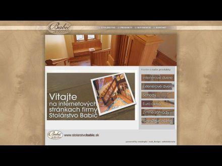 www.stolarstvobabic.sk