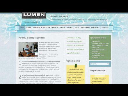 www.lumentv.sk