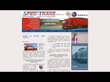 www.sped-trans.sk