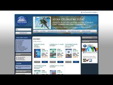 www.mapaslovakia.sk