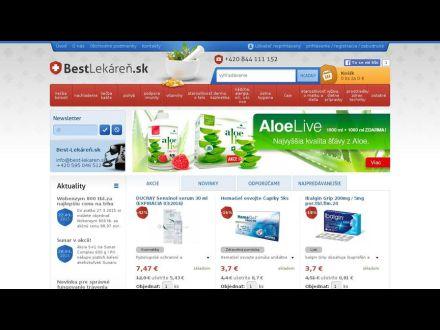 www.best-lekaren.sk
