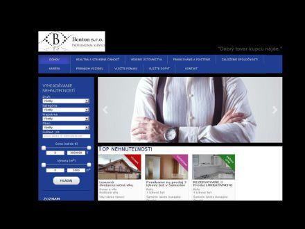 www.benton.sk