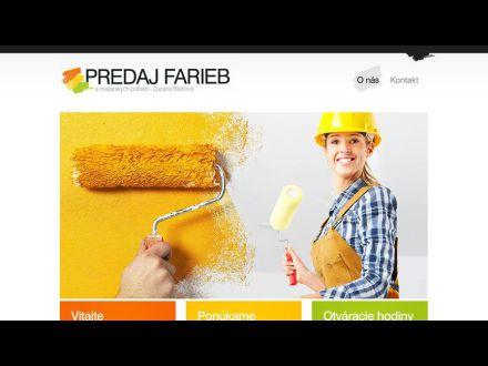 www.predaj-farieb.sk