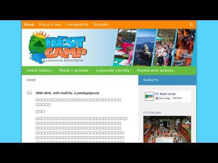 www.bestcamp.sk