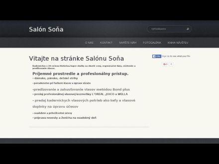www.salonsona.webnode.sk