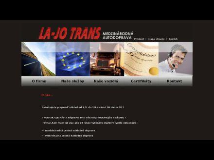 www.lajotrans.sk